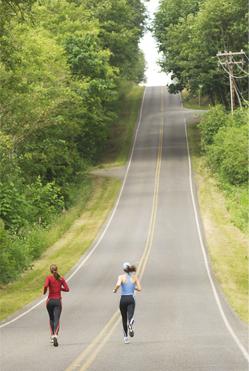 上り坂トレーニングと下り坂トレーニング